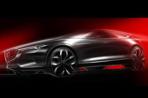 Mazda Koeru concept - teaser