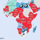 Marcas más buscadas en Google 2014 - Africa