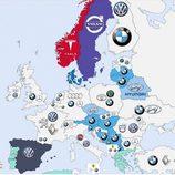 Marcas más buscadas en Google 2014 - Europa