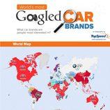 Marcas más buscadas en Google 2014 - infografías