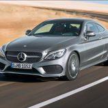 Mercedes-Benz Clase C Coupé 2016 - Frontal izquierdo