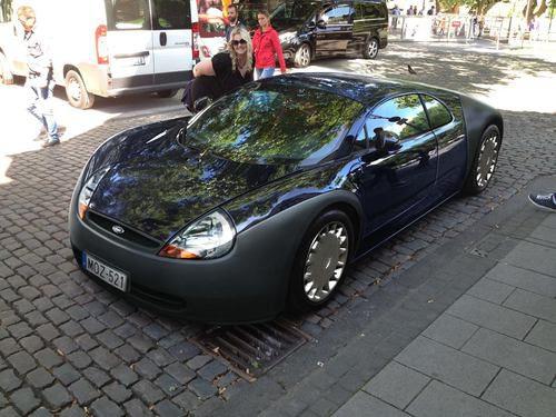 Híbrido entre el Bugatti Veyron y el Ford KA
