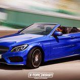 Mercedes-Benz Clase C Cabrio -render