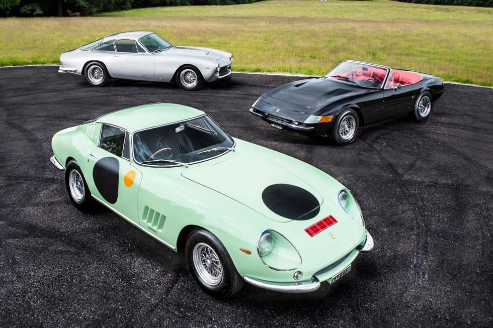 Bonhams Goodwood 2015 - colección de Chris Evans