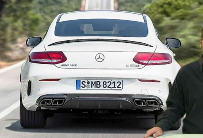 Filtrado - Mercedes AMG C63 Coupé: Trasera