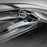 Audi quattro e-tron concept interior