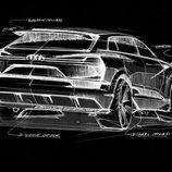 Audi quattro e-tron concept chasis