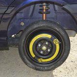 Colocamos la rueda de repuesto - Trabajo acabado