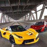 Ferrari LaFerrari y McLaren P1 - foto