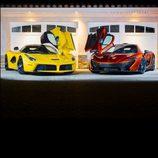 Ferrari LaFerrari y McLaren P1
