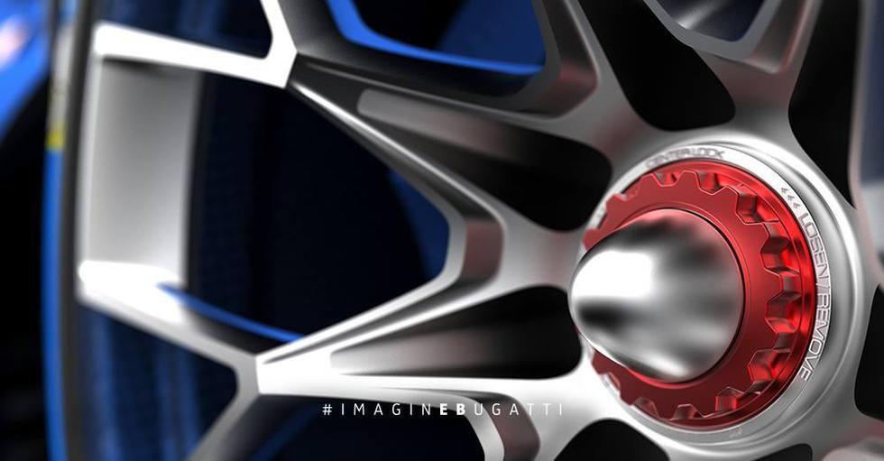 Bugatti Vision Gran Turismo - llanta