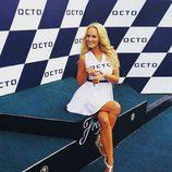 Paddock Girl GP Gran Bretaña