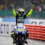 Rossi, vencedor inesperado
