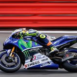 Rossi no encontró el ritmo en seco