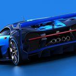 Zaga musculosa del Bugatti Vision