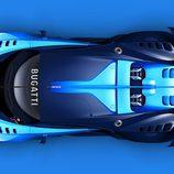 Toma cenital Bugatti Vision