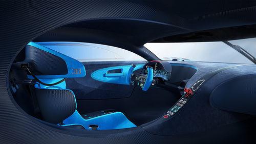 Interior Bugatti Vision