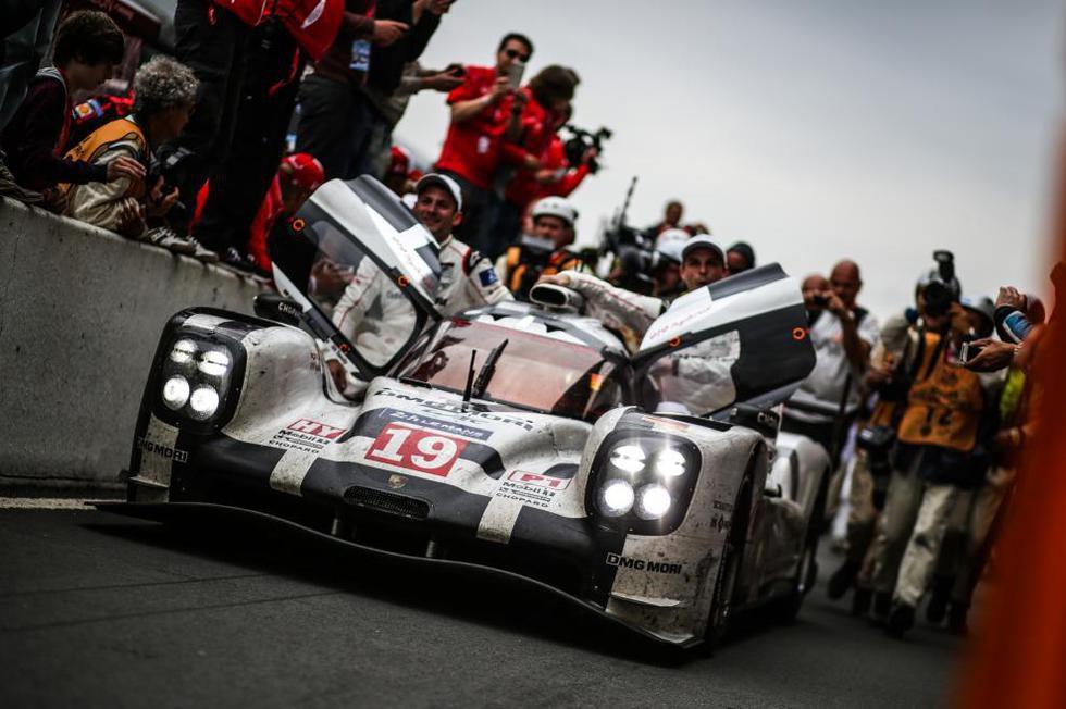 El 919 Hybrid en Le Mans