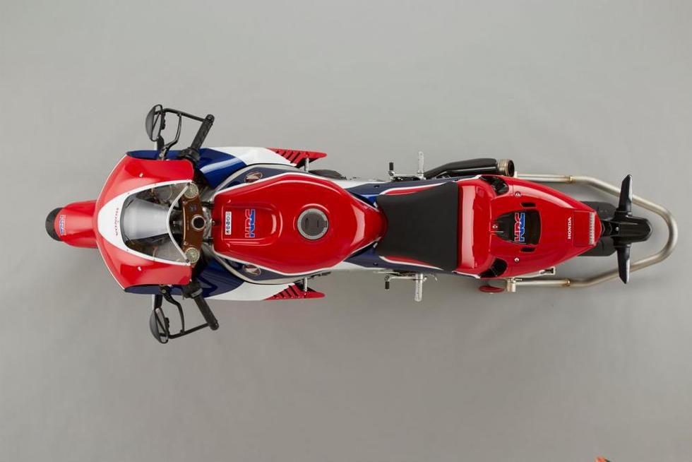 Honda RC213V-S - vista aérea