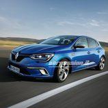 Renault Megane 2015 5 puertas - frontal