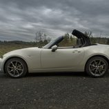 Mazda MX5 ND blanco capota