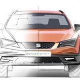 SEAT León Cross Sport Concept - sketch front