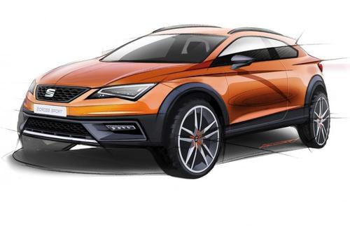 SEAT León Cross Sport Concept - sketch
