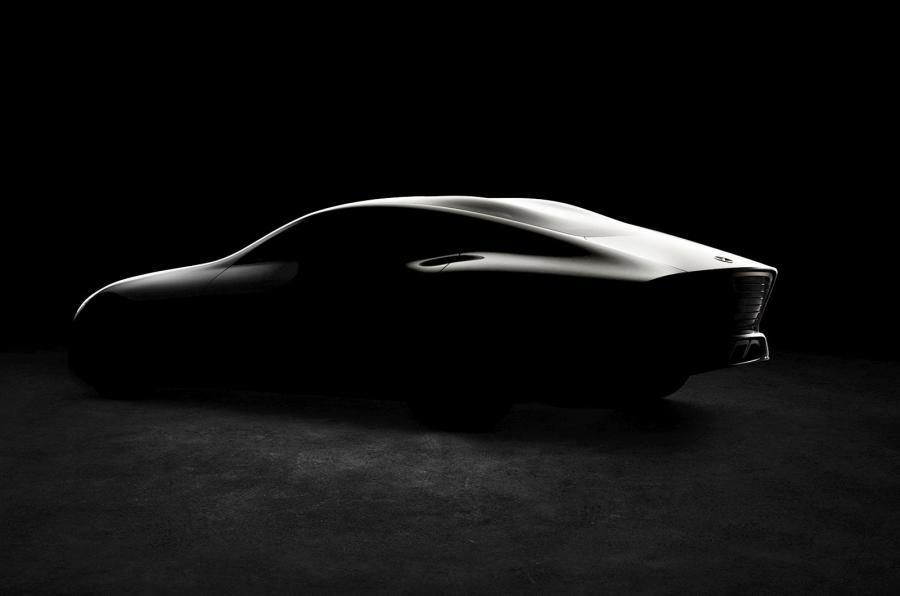 Mercedes-Benz concept IAA Frankfurt 2015- Silueta