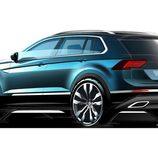 Volkswagen Tiguan 2017 - sketch