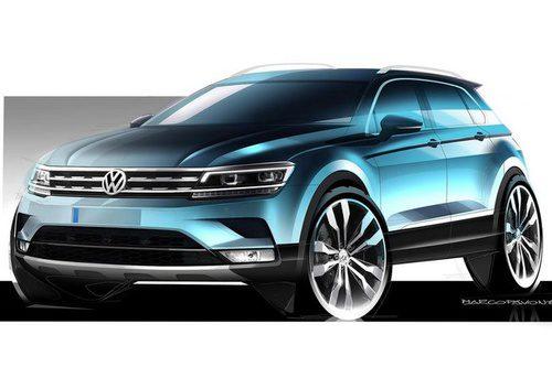 Volkswagen Tiguan 2017 - boceto