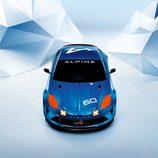 Alpine Celebration Dieppe Show Car - Frontal aéreo