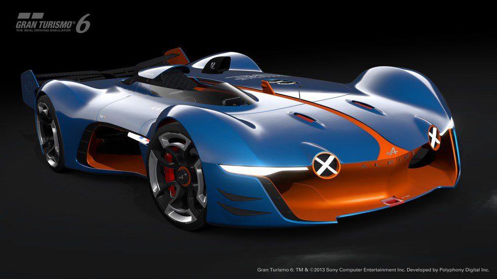 Alpine Vision Gran Turismo - Frontal 3