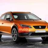 Seat Leon Cross Sport Concept - Frontal
