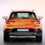 Seat Leon Cross Sport Concept - Trasera