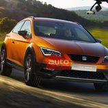 Seat Leon Cross Sport Concept - Frontal barrido