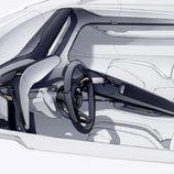 Porsche Mission E - Boceto de diseño
