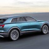 Audi e-tron quattro concept - side