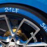Bugatti Vision Gran Turismo - Detalle Llanta