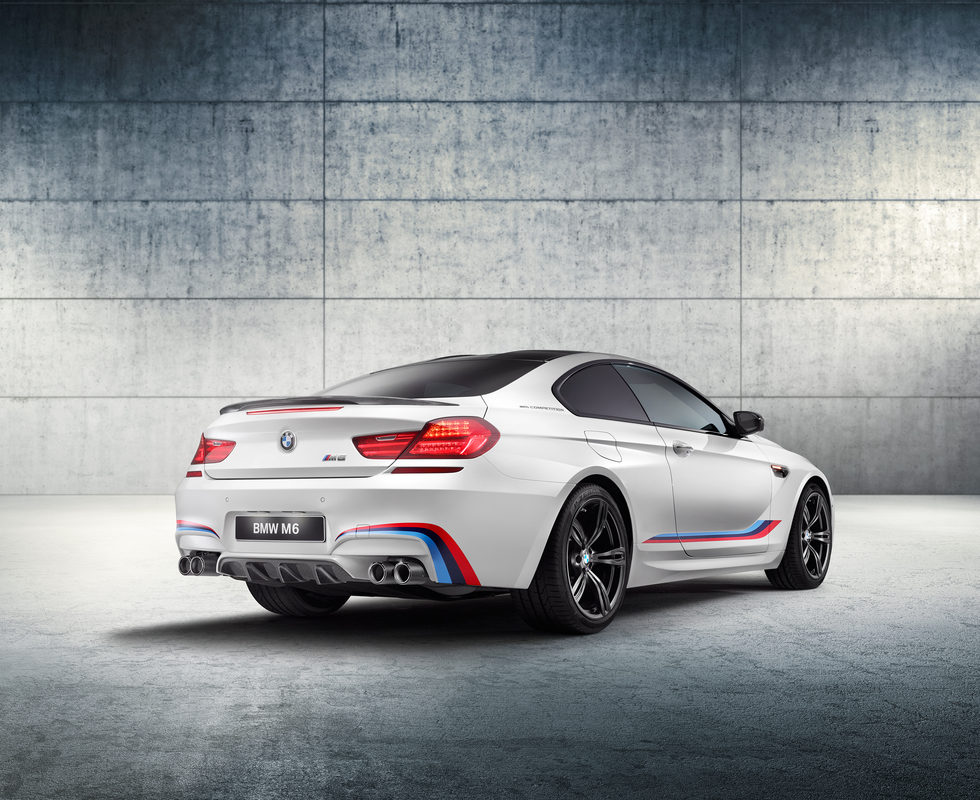 BMW M6 Coupé Competition Edition - Trasera