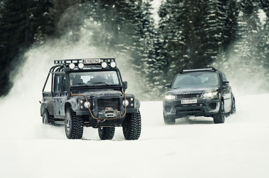 Land Rover y Range Rover - Spectre