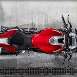 Ducati Monster 1200R 2016 - aerea