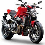 Ducati Monster 1200R 2016 - frontal