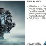 BMW X4 M40i - filtración