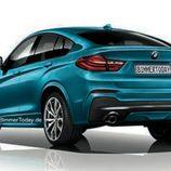 BMW X4 M40i - rear