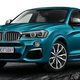 BMW X4 M40i - leak
