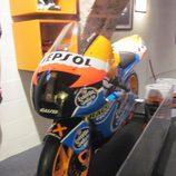 Exposición Alex Márquez - moto campeona España