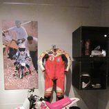 Exposición Marc Márquez - minimoto motocross