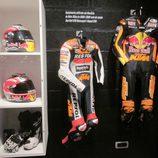 Exposición Marc Márquez - equipamiento 125cc 2008 y 2009