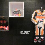 Exposición Marc Márquez - equipamiento MotoGP 2013