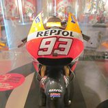 Exposición Marc Márquez - Honda MotoGP 2014 frontal